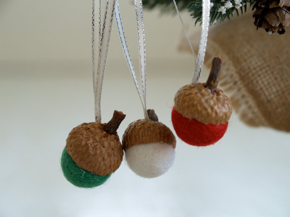 Felted Acorn Kit ~ Christmas Ornaments — The Magic Onions Store