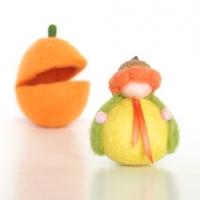 Felted Pumpkin Fairy : The Magic Onion Shop