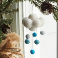 blue cloud ornament : www.theMagicOnions.com/shop/