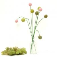Felt Flowers : www.theMagicOnions.com/shop/