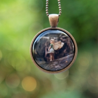 photo of Flower Fairy Necklace Woodland by The Magic Onions