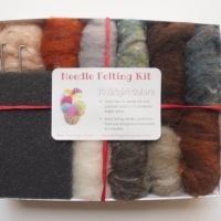 photo of Needle Felting Kit, Natural Earth Tones by The Magic Onions