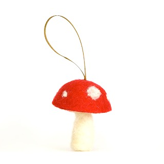 Neelde Felted Toadstool Tutorial : www.theMagicOnions.com