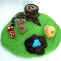 Felted Playscape Tutorial