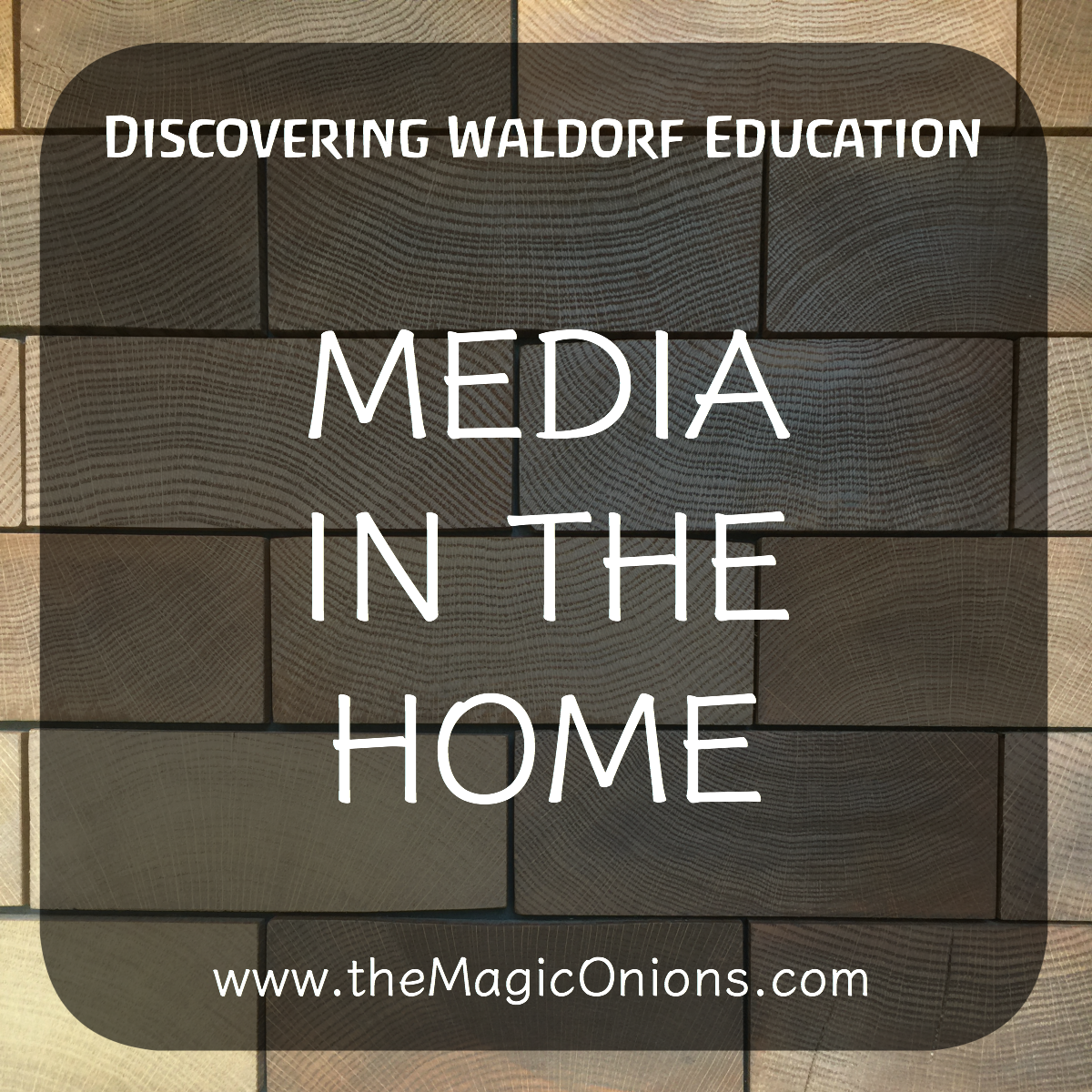 The Role of Media in the Waldorf Home article from The Magic Onions