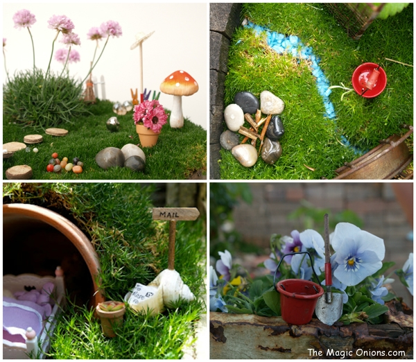 Fairy Gardens on The Magic Onions - www.theMagicOnions.com