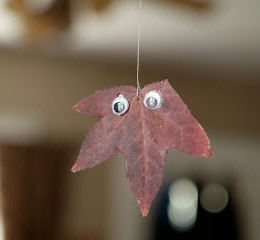 How to make an Autum Leaf Mobile