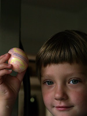 Silk Dyed Easter Eggs