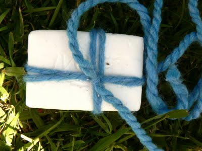 How to make a Wet Felted Soap-On-A-Rope.