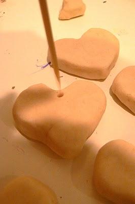 Make Playdough Hearts.