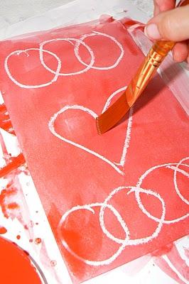 Secret Valentine's Card.