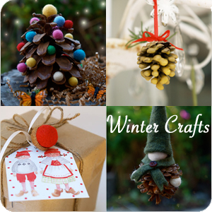 Winter Crafts | The Magic Onions