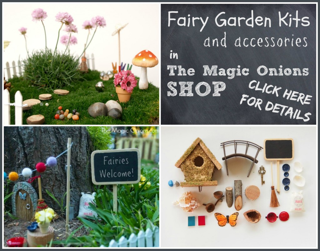 Fairy Garden Accessory Kits : www.theMagicOnions.com/shop