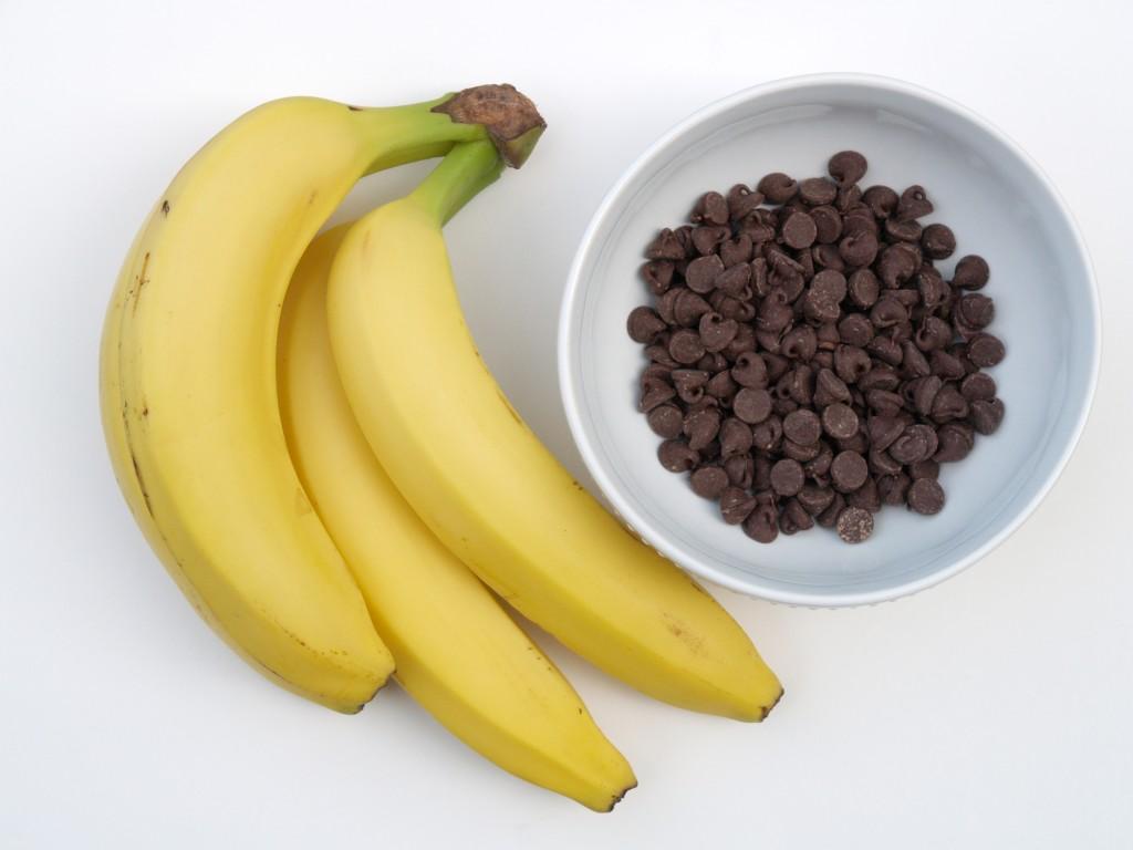 Banana Chocolate Bite Recipe :: www.theMagicOnions