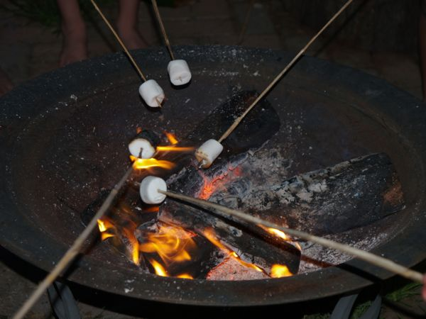 Rosting Marshmallows