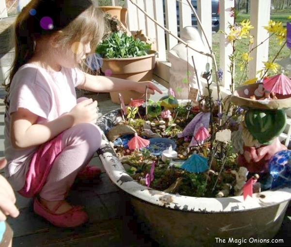 Enchanting Fairy Garden : Winner : 2013 Fairy Garden Contest