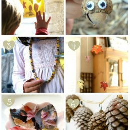 Fall Nature Crafts for Kids