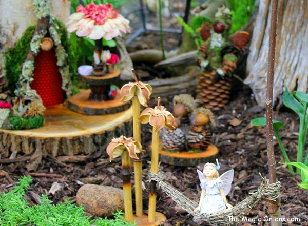 Magical Fairy Garden :: www.theMagicOnions.com