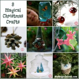 8 Magical Christmas Crafts