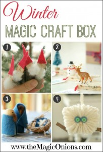 Winter Magic Craft Box - http://themagiconions.com/shop/product/the-magic-craft-box-winter/