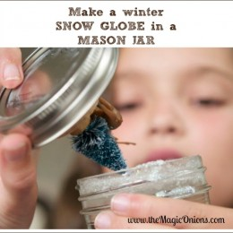 Make a Beautiful Winter Wonderland Snow Globe