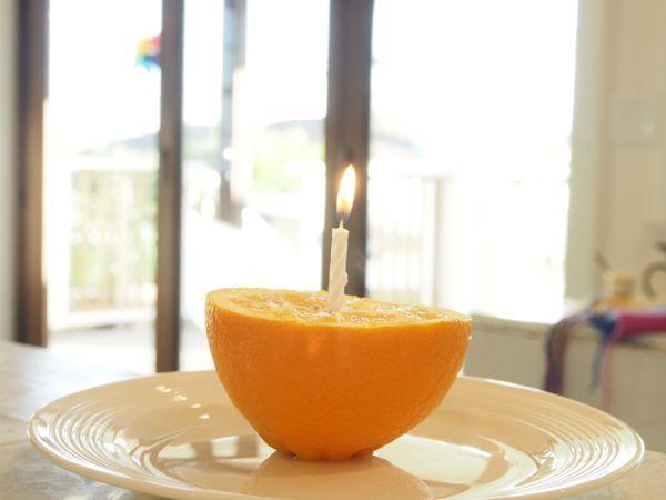 Orange Birthday Cake : www.theMagicOnions.com