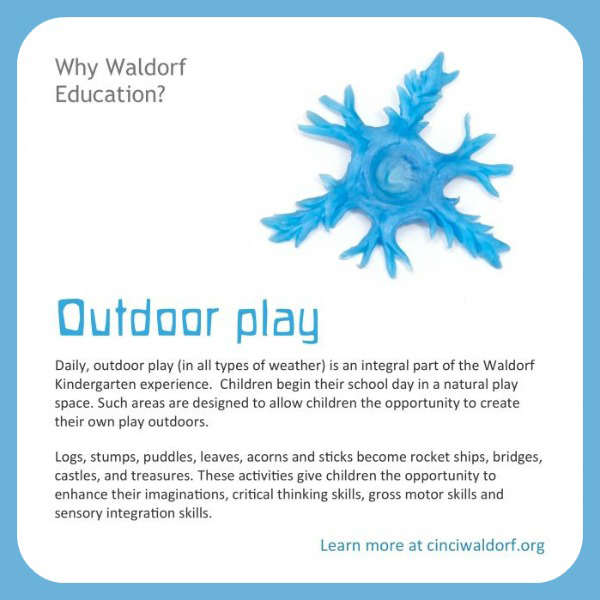 Outdoor Play : Discovering Waldorf