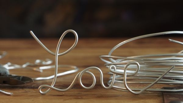 Making Love Letters from Wire