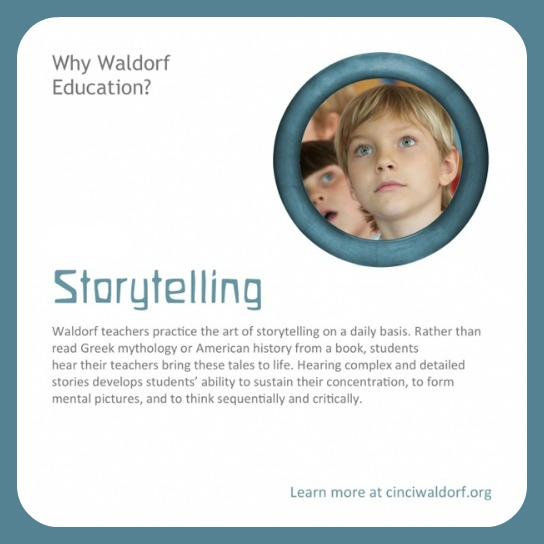 Storytelling : Discovering Waldorf Education