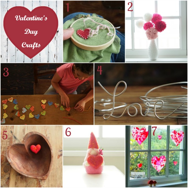 Valentine's Day Crafts : www.theMagicOnions.com