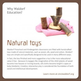 Natural Toys : Discovering Waldorf Education