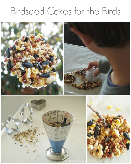 Spring Magic Craft Box : Birdseed Cakes : www.theMagicOnions.com