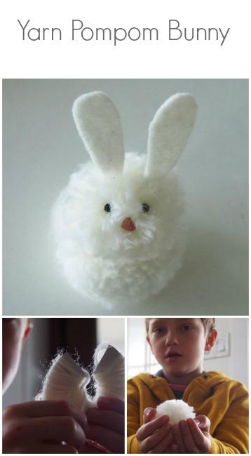 Spring Magic Craft Box : Pom Pom Easter Bunny : www.theMagicOnions.com