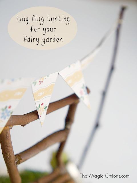 Fairy Garden in a tea cup : www.theMagicOnions.com