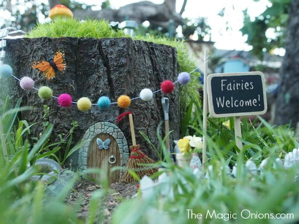 Fairy Garden : The Magic Onoions : www.theMagicOnions.com
