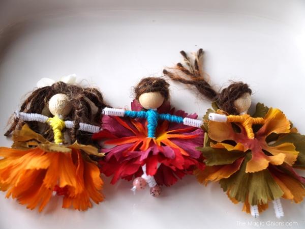Make a Flower Fairies : Summer Magic Craft Box - www.theMagicOnions.com/shop