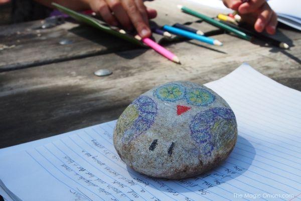 Pet Rock : Camping Homework : Big Sur, CA : The Magic Onions.com