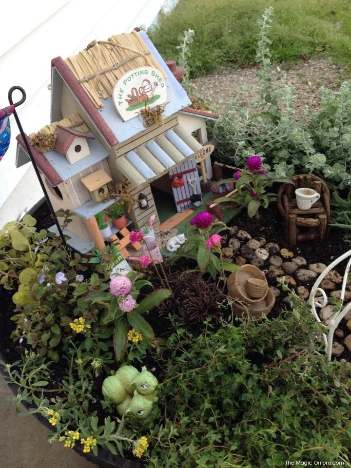 Fairy Garden Feature : Eight