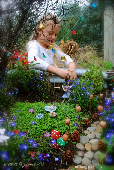 Fairy Garden Contest : The Magic Onions : www.theMagicOnions.com