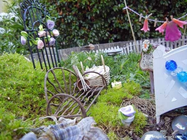 Fairies Washing Line Fairy Garden : Third Place Winner of the 2014 Fairy Garden Contest on The Magic Onions : www.theMagicOnions.comChild Made Fairy Garden : 2nd Place Winner of the 2014 Fairy Garden Contest on The Magic Onions : www.theMagicOnions.comSECOND Prize Winner : Child Made Fairy Garden : 2014 Fairy Garden Contest on The Magic Onions : www.theMagicOnions.com