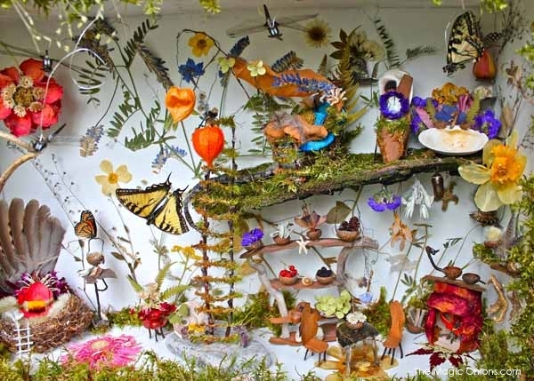 Amazing Butterfly Fairy Garden : Fairy Garden Contest Finalists : The Magic Onions