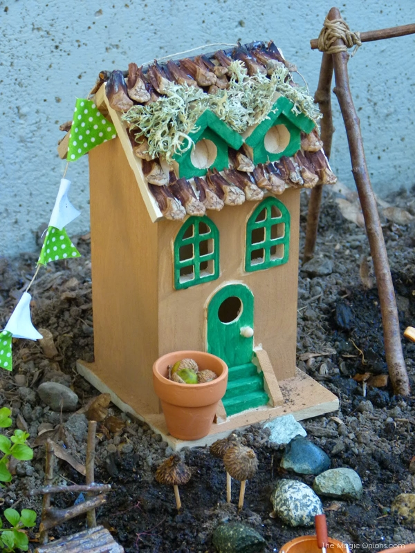 Fairy Garden : Finalist in the Fairy Garden Contest : www.theMagicOnions.com