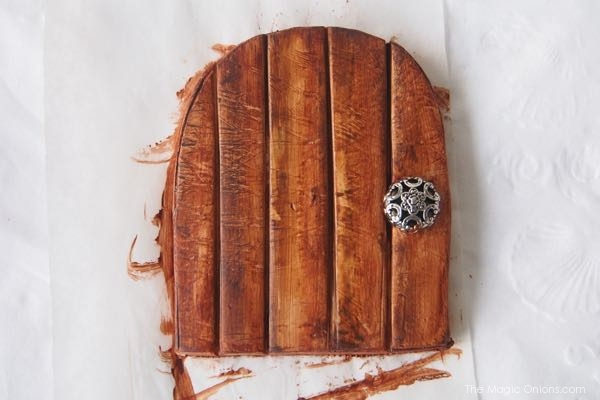 DIY Clay Fairy Door Tutorial : The Magic Onions Blog