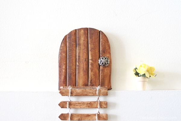 DIY Tutorial Fairy Door : The Magic Onions Blog