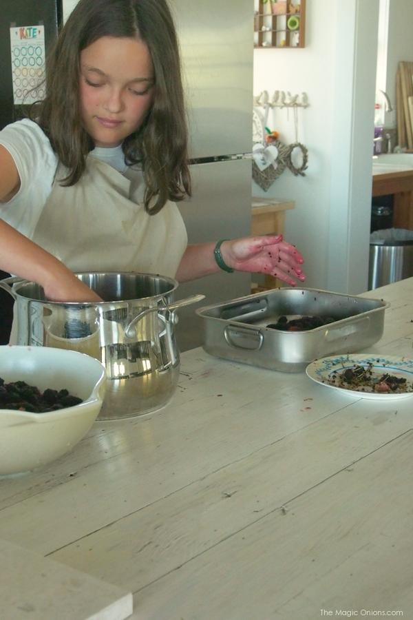 photo of recipe of mulberry jam