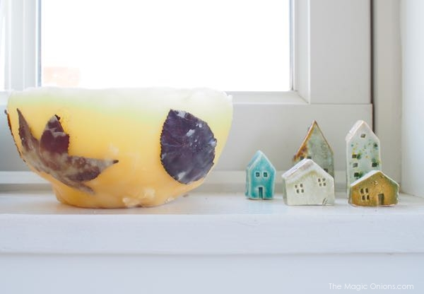 mini clay houses