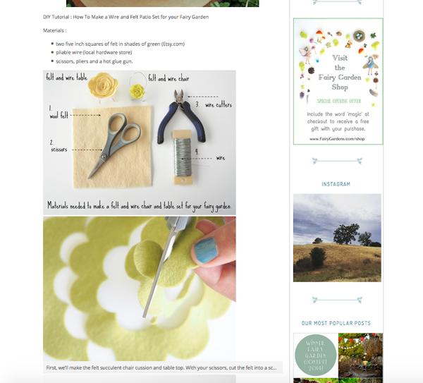 photo of the best Fairy Garden Website
