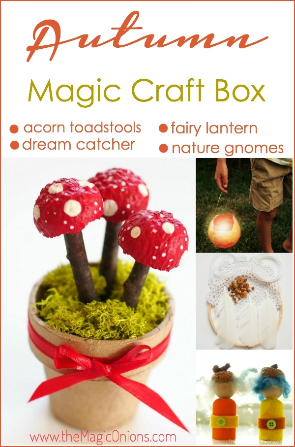 Photo of Autumn Magic Craft Box : www.theMagicOnions.com/shop