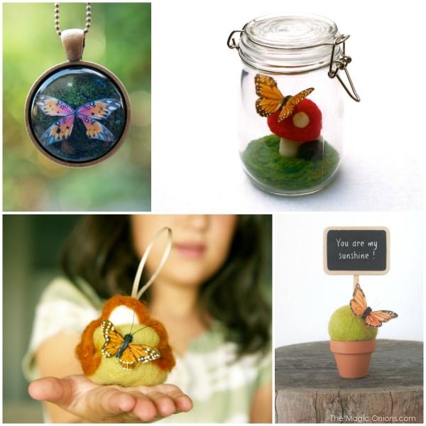 Monarchs in The Magic Onions Shop : www.theMagicOnions.com/shop