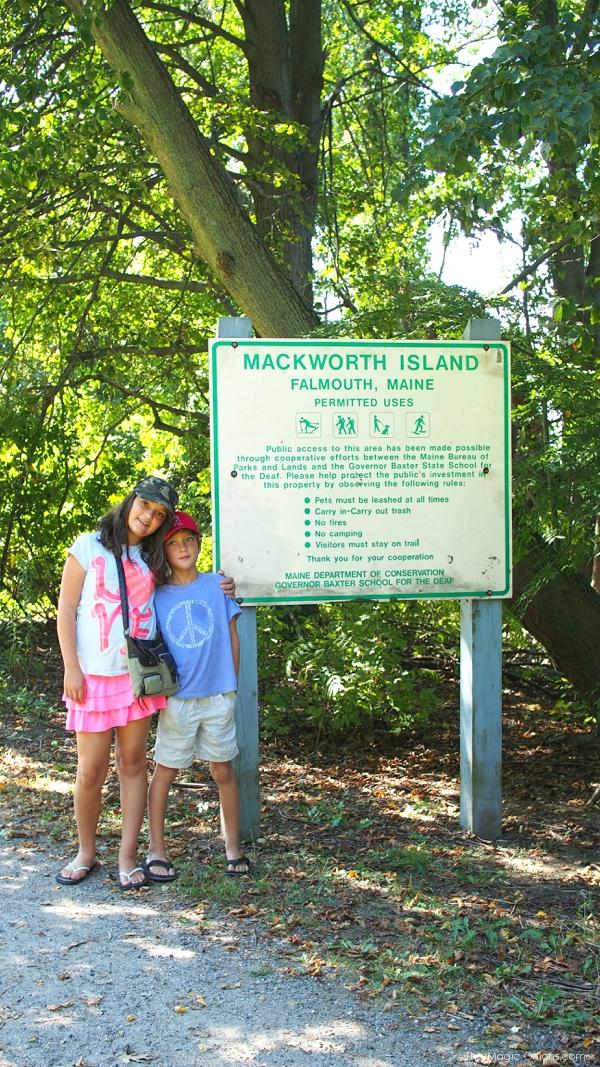 Mackworth Island, Maine, Fairy Houses - www.theMagicOnions.com